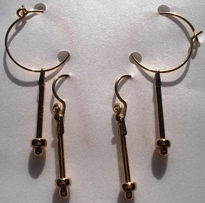 Gold Filled Quick Switch Earrings