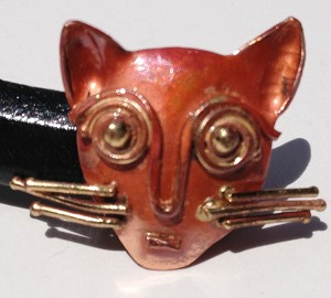 Patricia Healey Copper - Cat